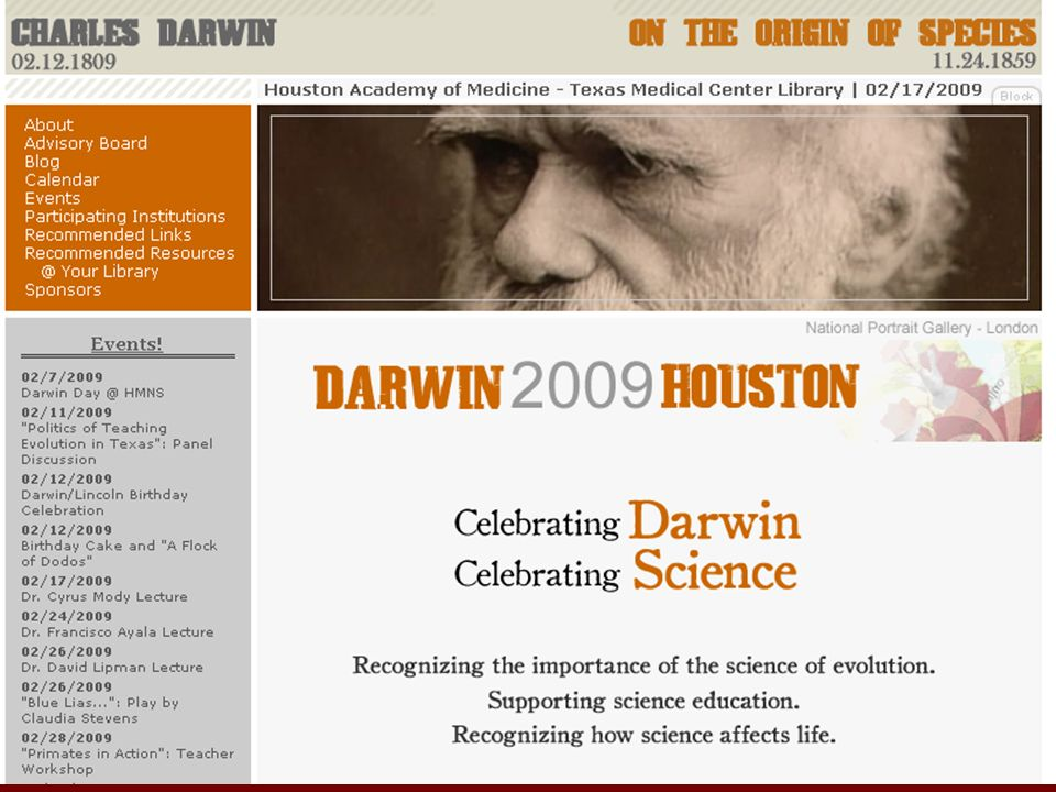 Darwin Will Have His Day It is appointed unto men once to die, but after this the judgment.