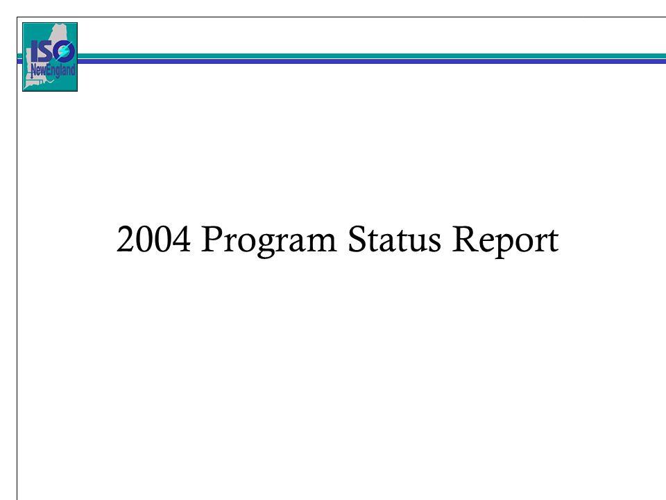 2004 Program Status Report