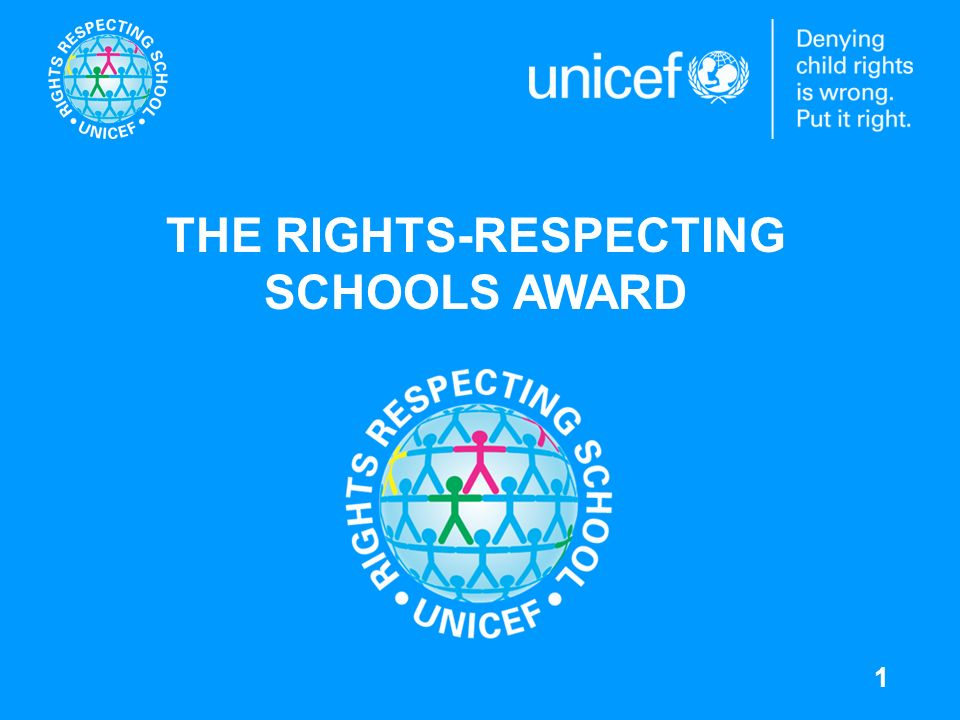 2 THE CRC AS A GUIDE TO LIVING The vision: A Rights Respecting School with the values of the Convention on the Rights of the Child (CRC) at its heart.