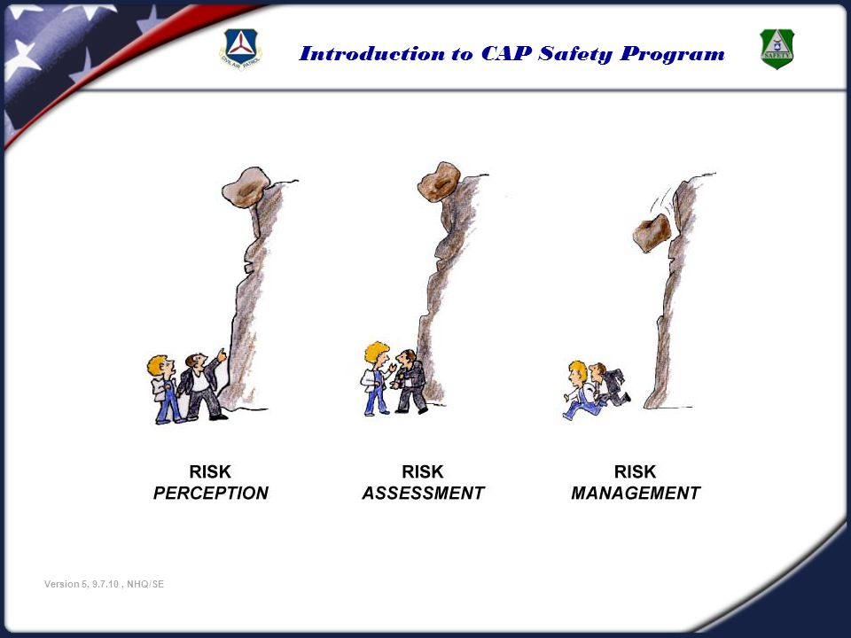 Introduction to CAP Safety Program Version 5, 9.7.10, NHQ/SE