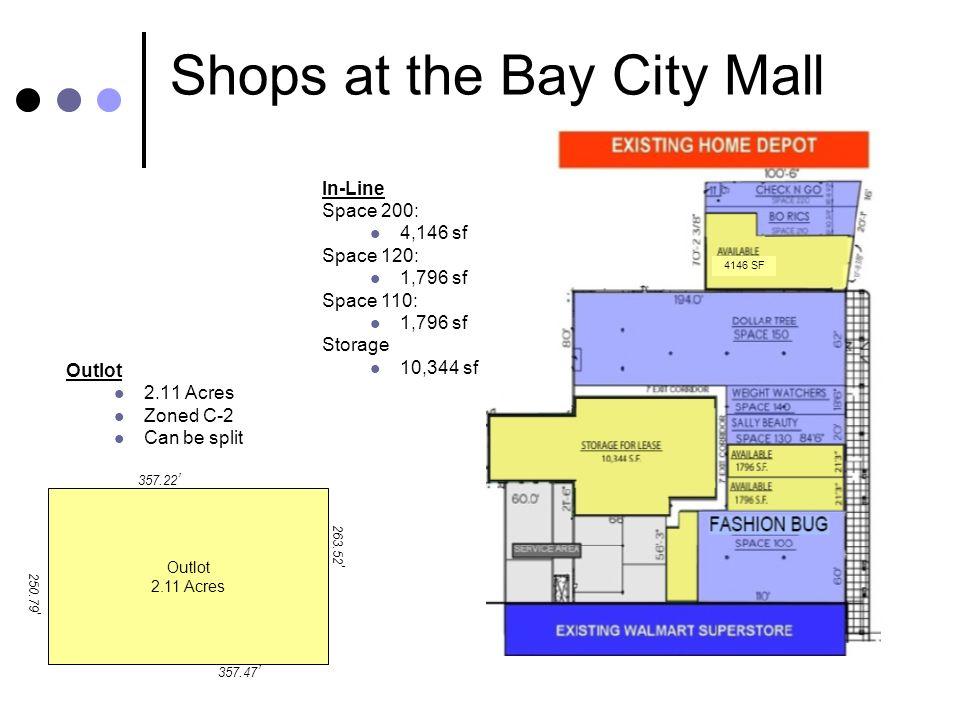 Shops at the Bay City Mall Robert B.Aikens & Associates, LLC 350 N.
