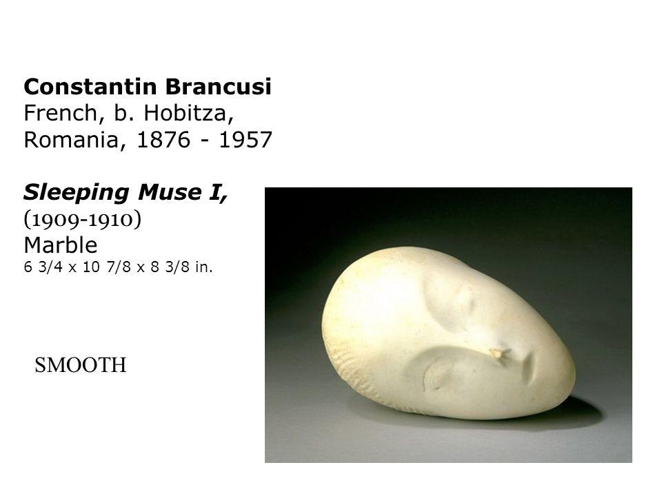 Constantin Brancusi French, b. Hobitza, Romania, 1876 - 1957 Sleeping Muse I, (1909-1910) Marble 6 3/4 x 10 7/8 x 8 3/8 in. SMOOTH