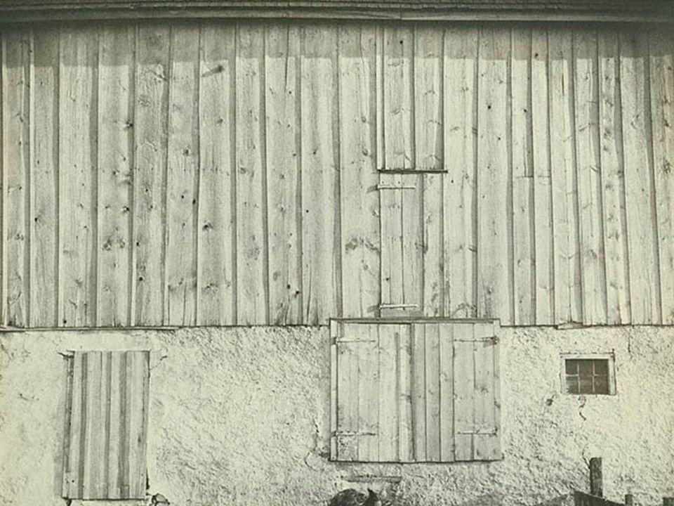 Charles Sheeler Side of a White Barn (1917) Gelatin silver print (photograph)