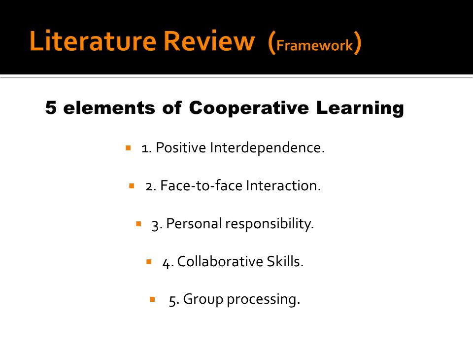 Piloting for 10 weeks Some sessions of cooperative learning activities will be observed observations with video-tapping ( 1 hour) Checklists are used while observing Interviews