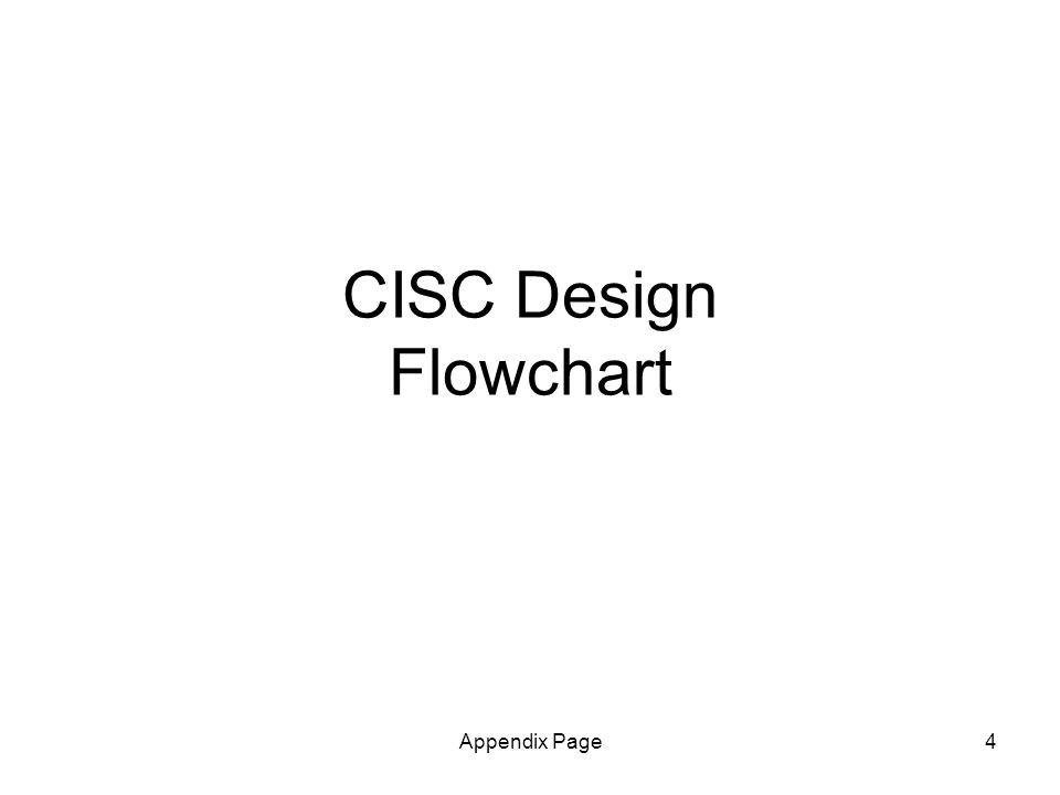 Appendix Page4 CISC Design Flowchart