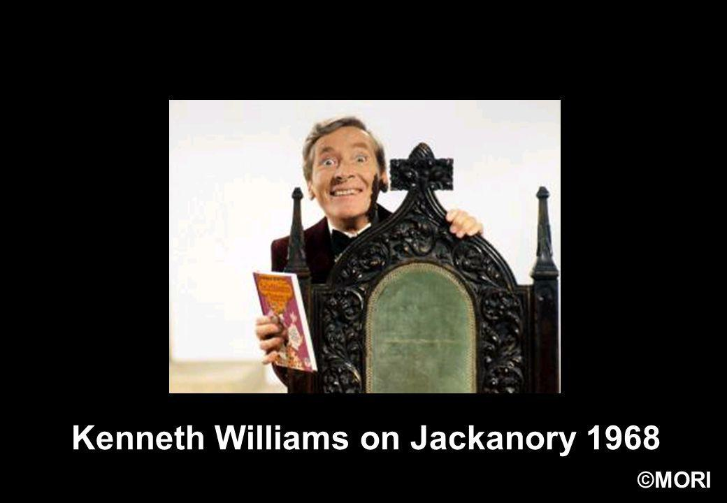 ©MORI Kenneth Williams on Jackanory 1968