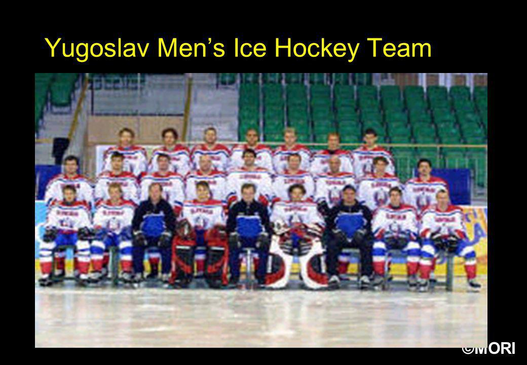 ©MORI Yugoslav Mens Ice Hockey Team