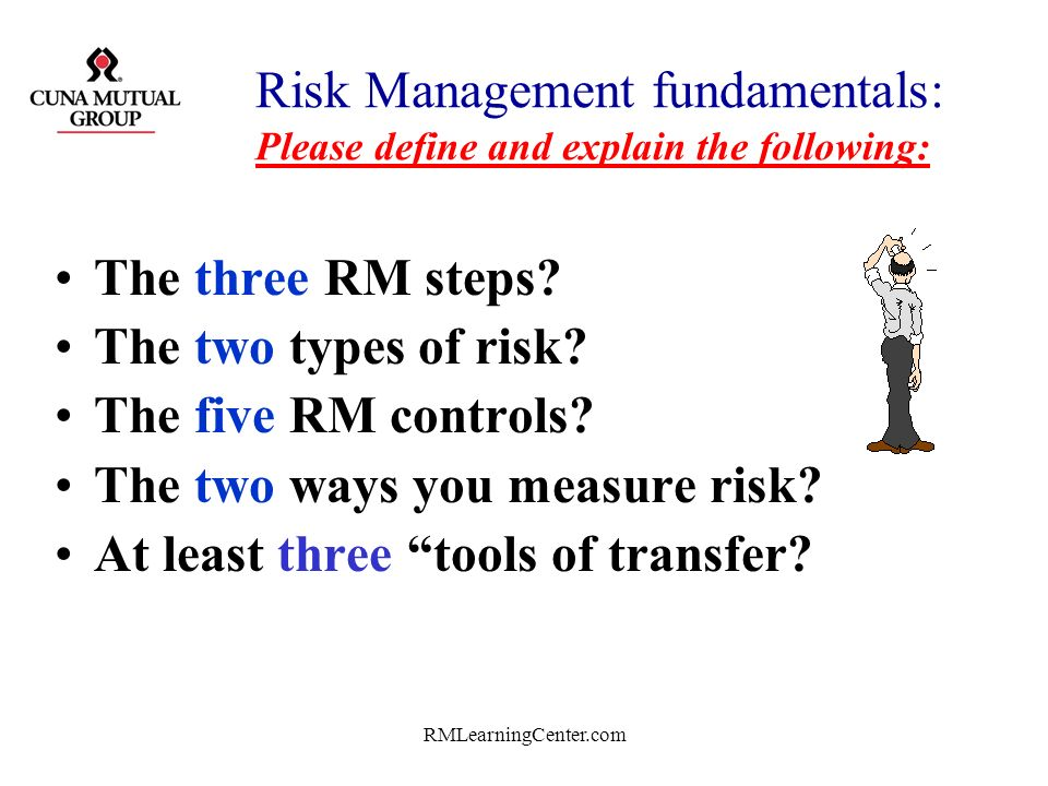 RMLearningCenter.com Lets begin with… A Review of RM Fundamentals!