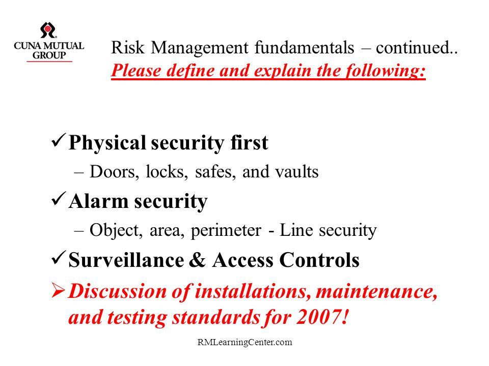 RMLearningCenter.com Thank You Rich Woldt Risk Management 007