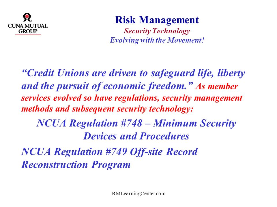 RMLearningCenter.com Risk Management fundamentals – continued.. Please define and explain the following: Physical security first –Doors, locks, safes,