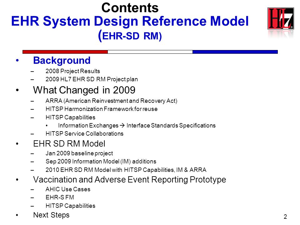23 Approach Service Oriented Architecture based on –Thomas Erls SOA layers (De Facto Standard) Business Process Value Chains, Composite Services Core Business Services, Entity Services Agnostic Services, Application Services, Implementation Profiles –HL7 EHR System Functional Model (EHR-S FM) 160+ Standardizes EHR system functions –Requirements and Test criteria standardized at National Level –Objective Strategic Planning and Investment Portfolio line costing.