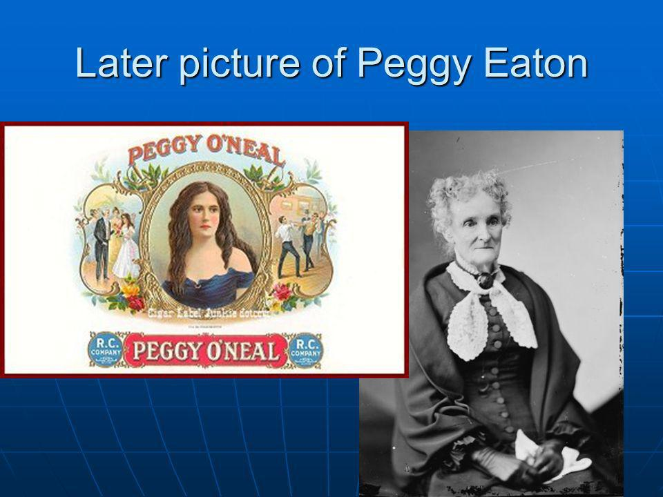 Later picture of Peggy Eaton