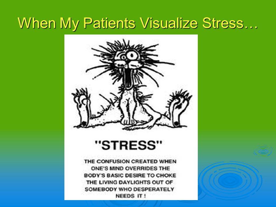 When I Visualize Stress
