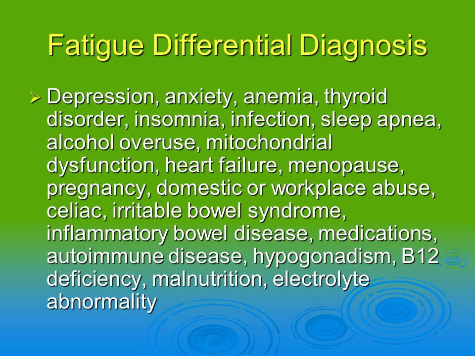 Chronic Fatigue Syndrome - treatment review - Chambers D et al.