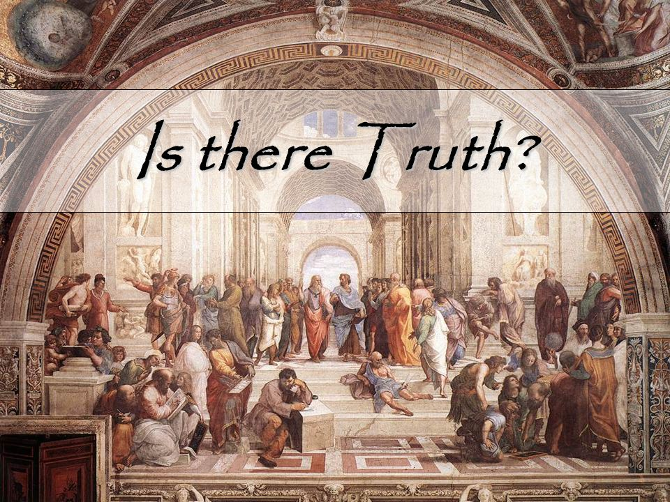 Is there Truth?