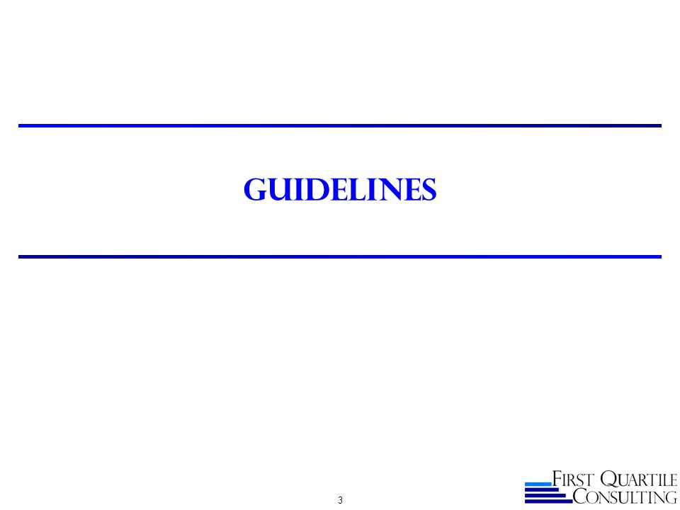 Guidelines 3