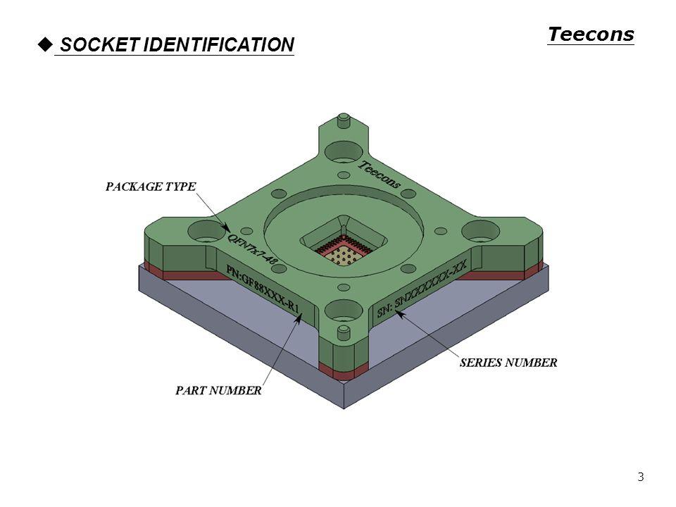 SOCKET IDENTIFICATION Teecons 3
