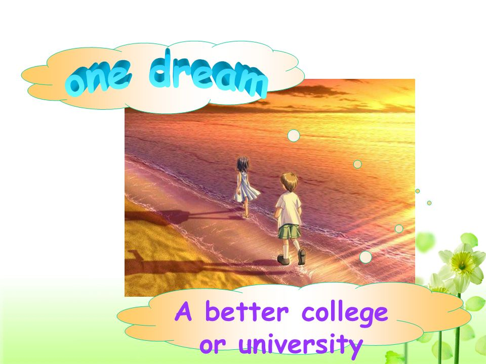A better college or university