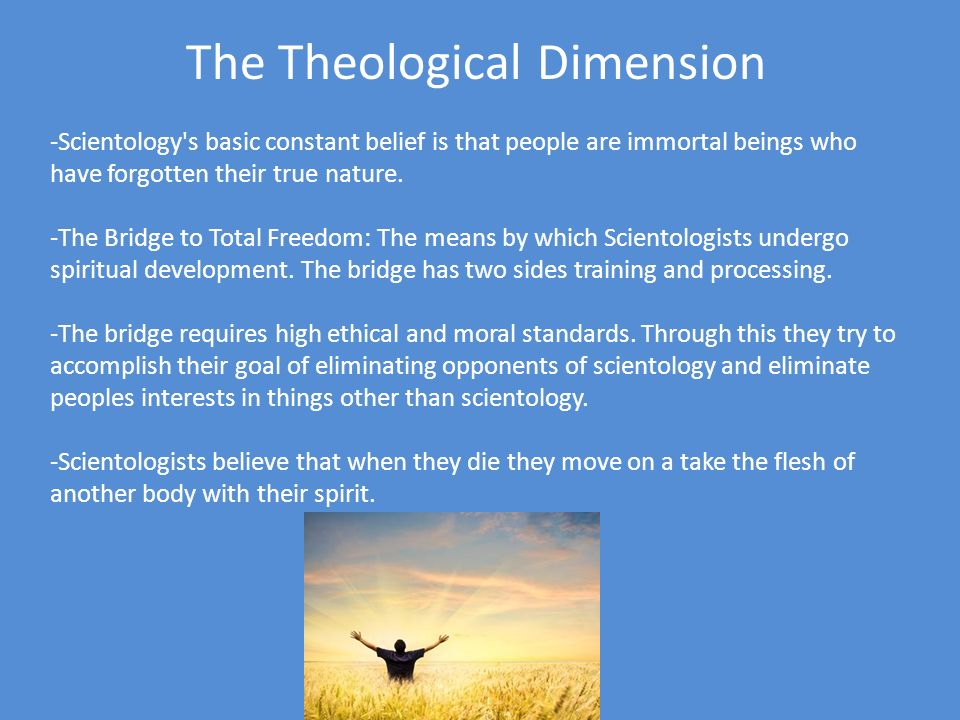The Ritual Dimension Terminology: Scientologists must have precise terminology that can not be confused with other words or definitions.