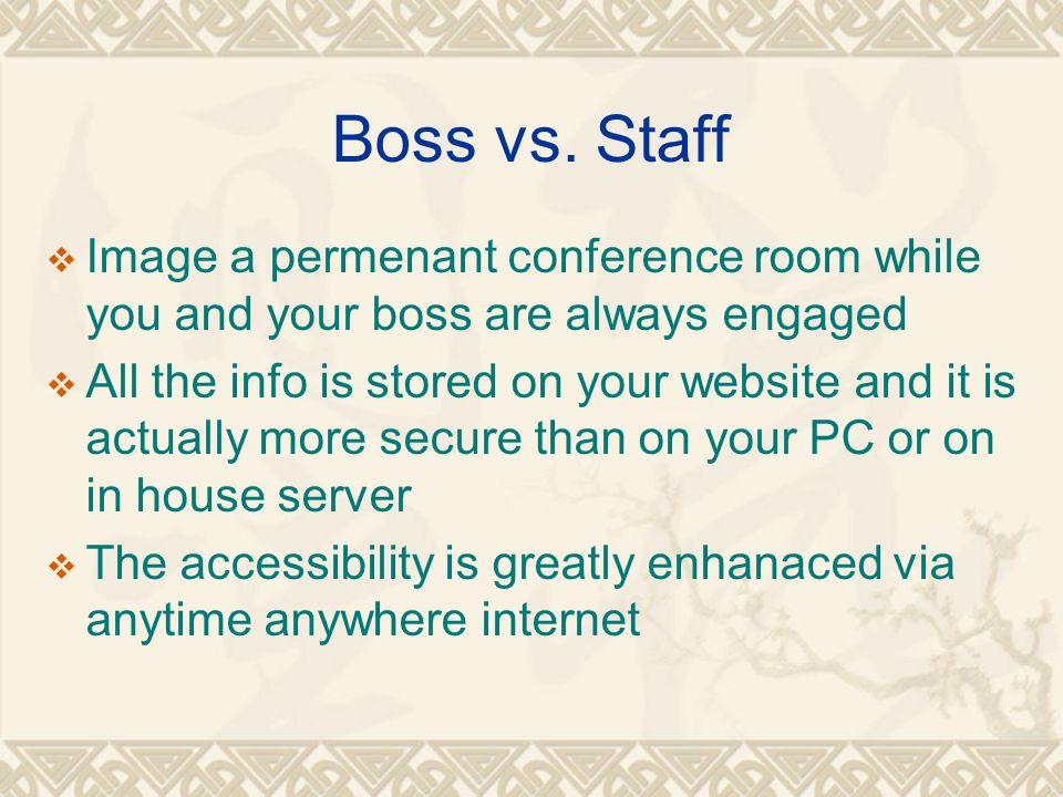 Boss vs.