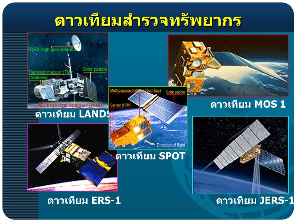 LANDSAT MOS 1 JERS-1 ERS-1 SPOT