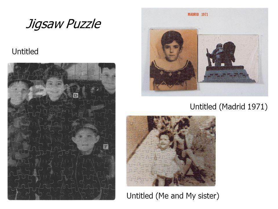 Untitled (Madrid 1971) Untitled Untitled (Me and My sister) Jigsaw Puzzle