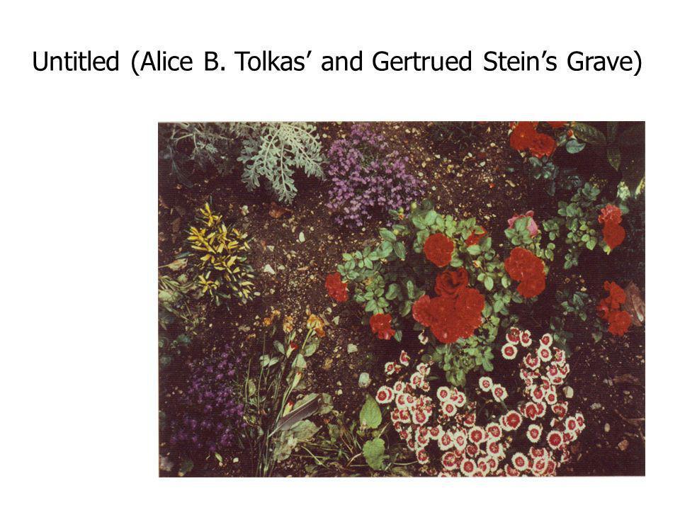 Untitled (Alice B. Tolkas and Gertrued Steins Grave)