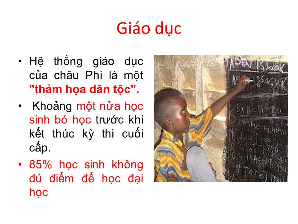 Giáo dc H thng giáo dc ca châu Phi là mt