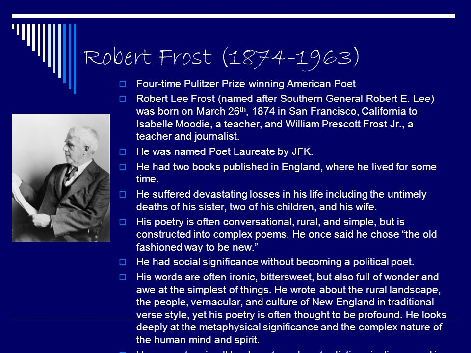 a review of robert frosts poem the gift outright The gift outright the gift outright is a poem written by robert frost frost first recited it at the college of william & mary on december 5, 1941, but its most famous recitation occurred on january 20, 1961 at the inauguration of john f kennedy.
