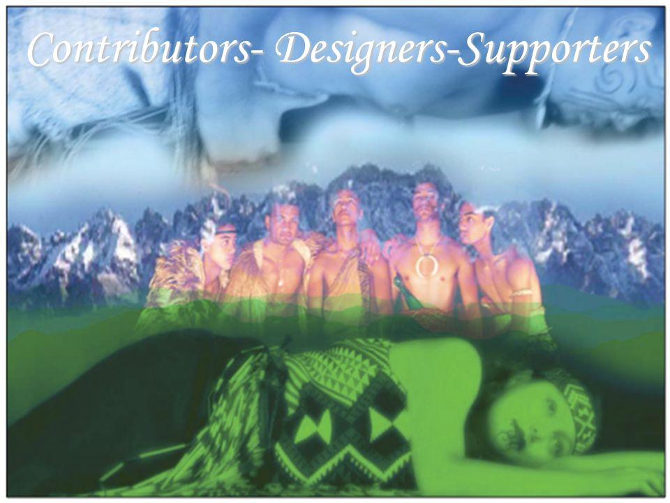 Contributors- Designers-Supporters