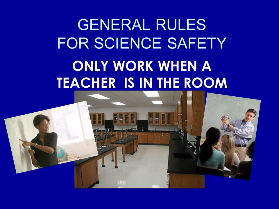 BEHAVIOR IN THE LAB No off task behavior (ever!) No doing your own experiments. Never enter the equipment and chemical storage room. No eating or drin