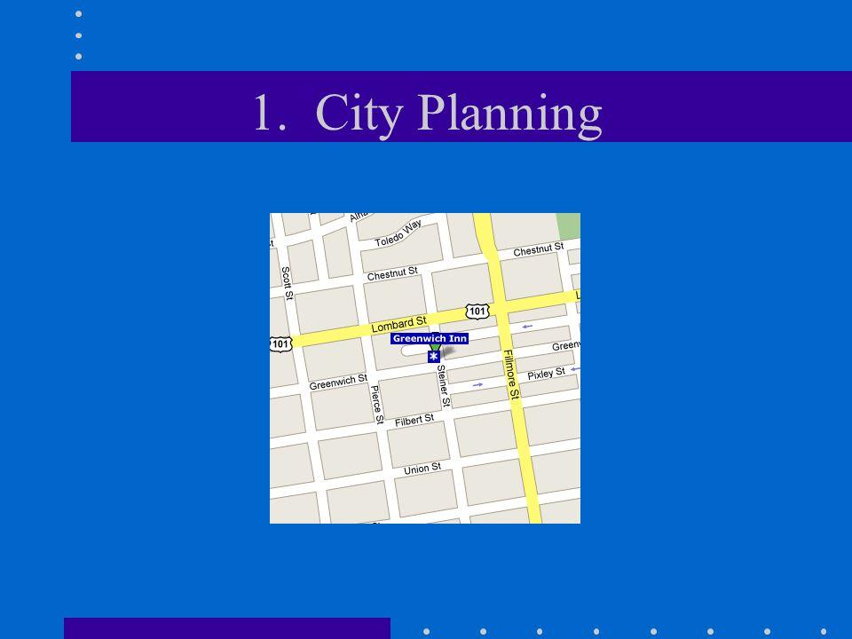 1. City Planning