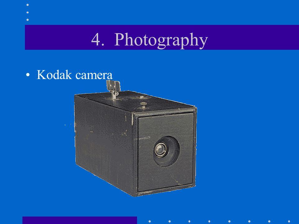 4. Photography Kodak camera