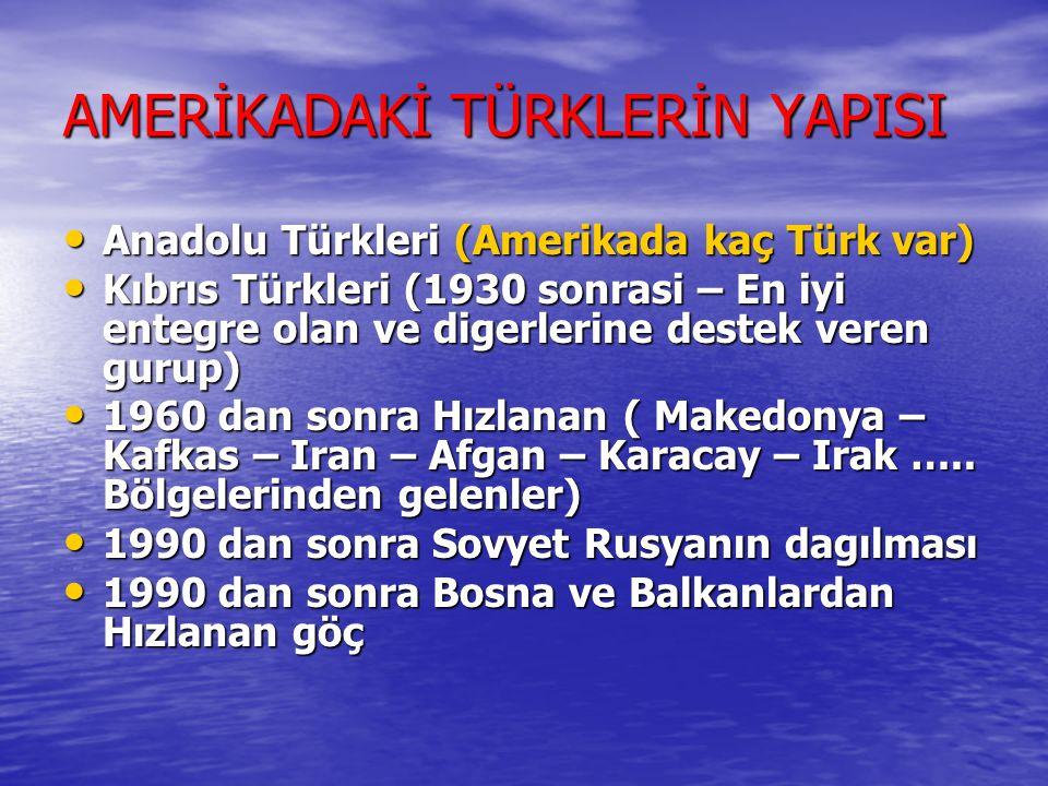 AMERİKADA KAÇ TÜRK VAR-1 1820de yapilan nüfus sayımına gore, Birleşik Devletlerde sadece 21 Türk vardı. 1820de yapilan nüfus sayımına gore, Birleşik D