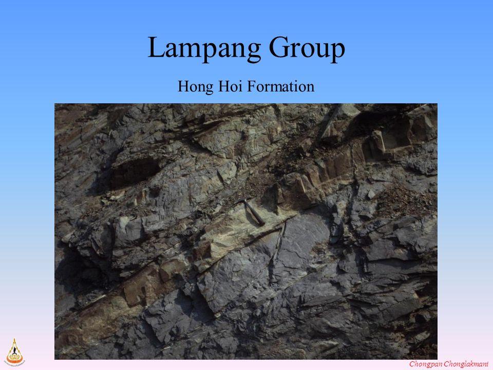 Chongpan Chonglakmani Lampang Group Hong Hoi Formation