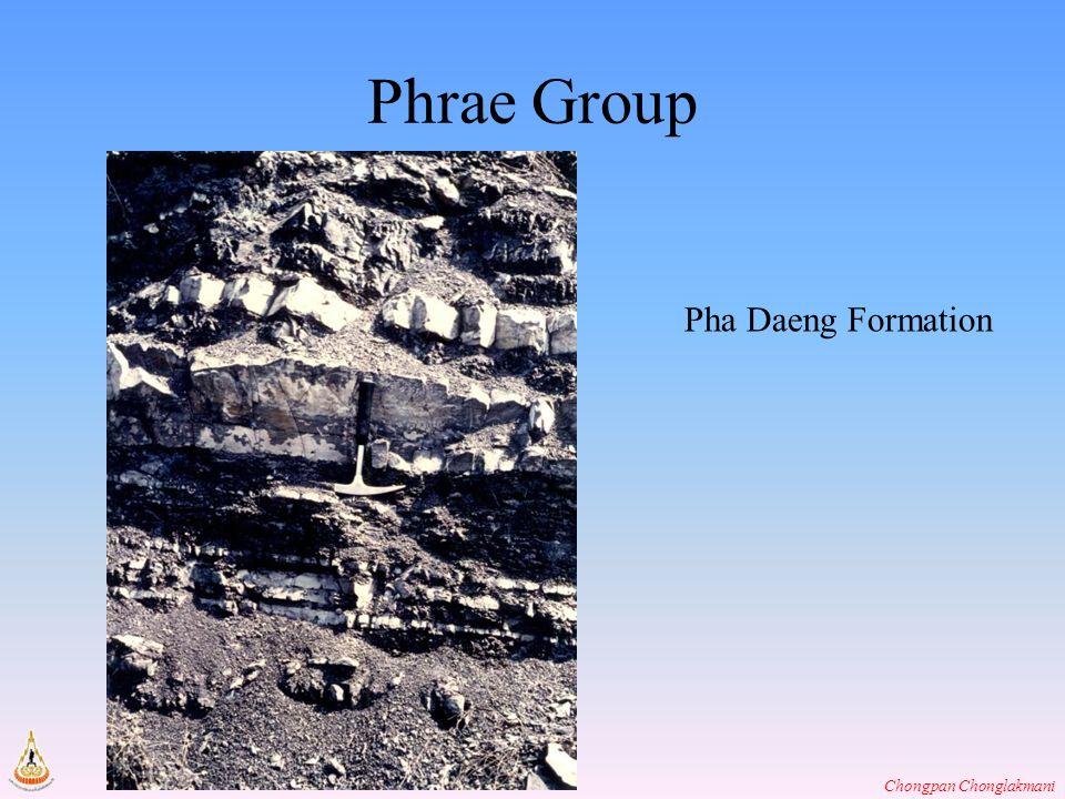 Chongpan Chonglakmani Phrae Group Pha Daeng Formation