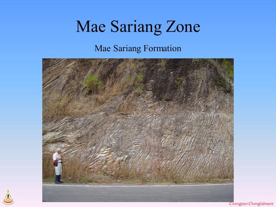 Chongpan Chonglakmani Mae Sariang Zone Mae Sariang Formation