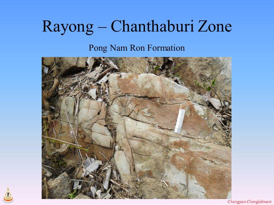 Chongpan Chonglakmani Rayong – Chanthaburi Zone Pong Nam Ron Formation