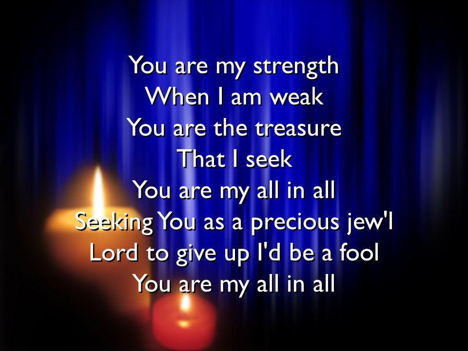 Jesus Lamb of God Worthy is Your name