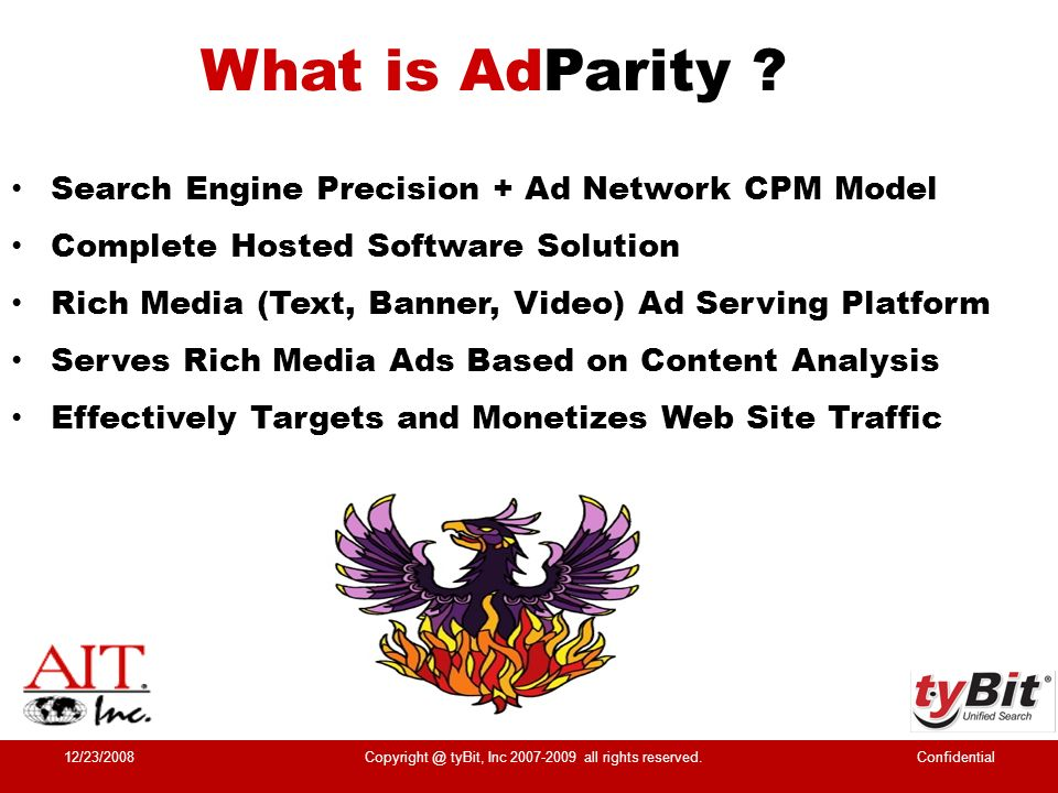 How Does AdParity Work .