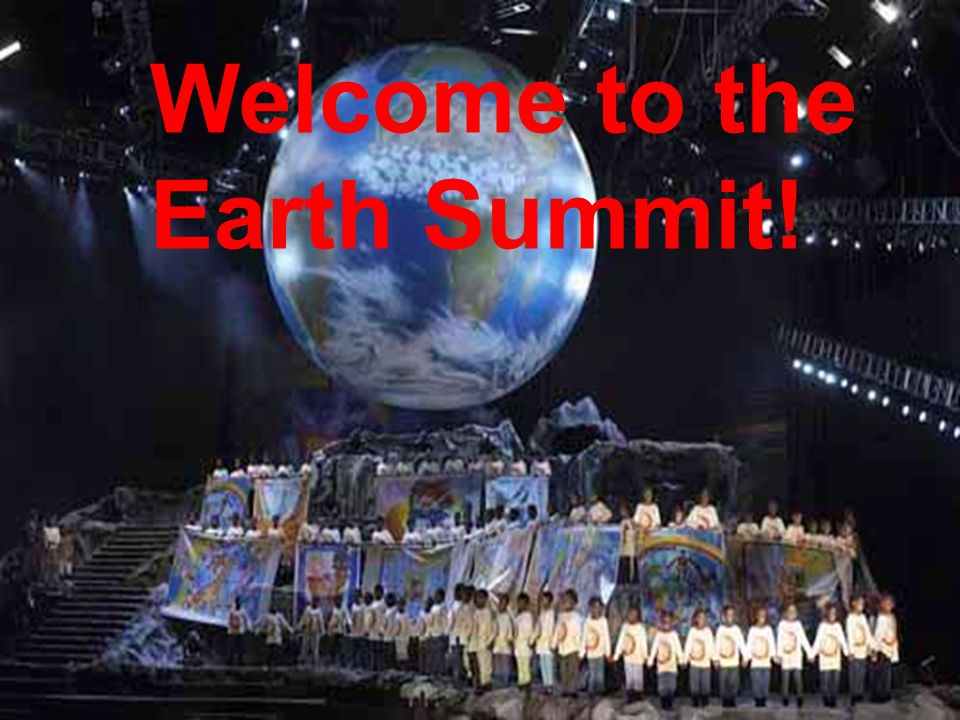 the highest point; top of a mountain meeting between the heads of two or more countries Earth Summit: summit ( )