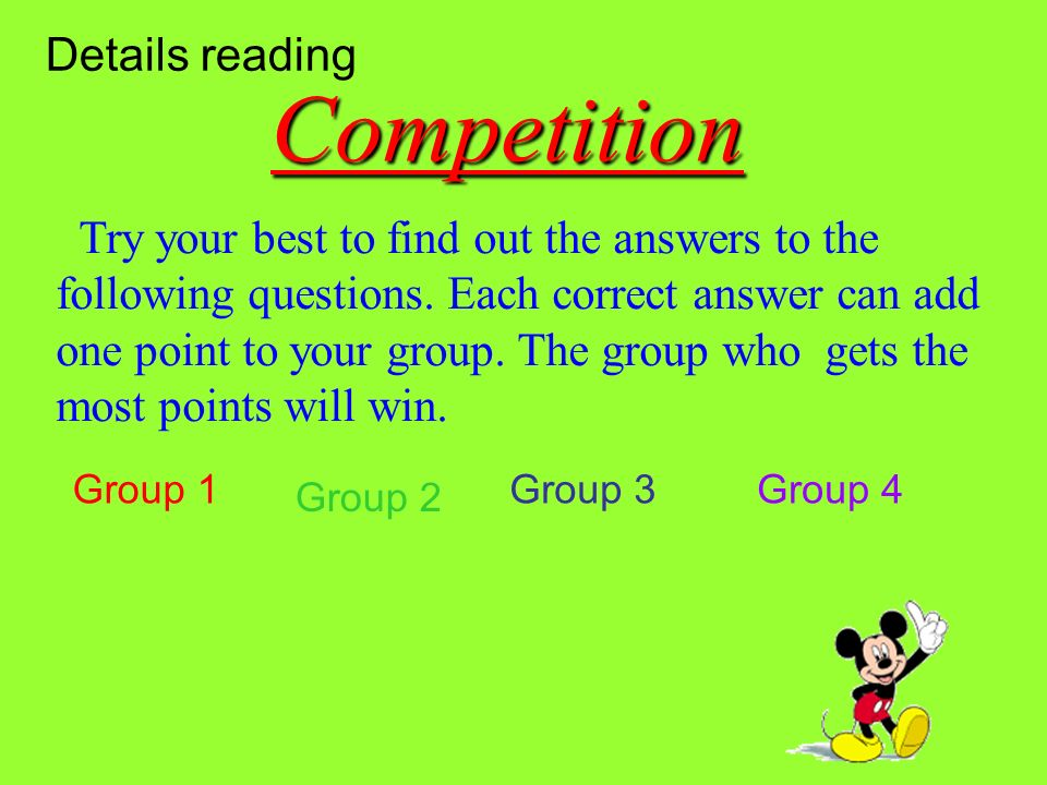 Part (1) Part (1) Part (2~3) Part (2~3) Part (4~6) Part (4~6) Part ( 7) Part ( 7) Please read the text carefully, then match the main idea with each p
