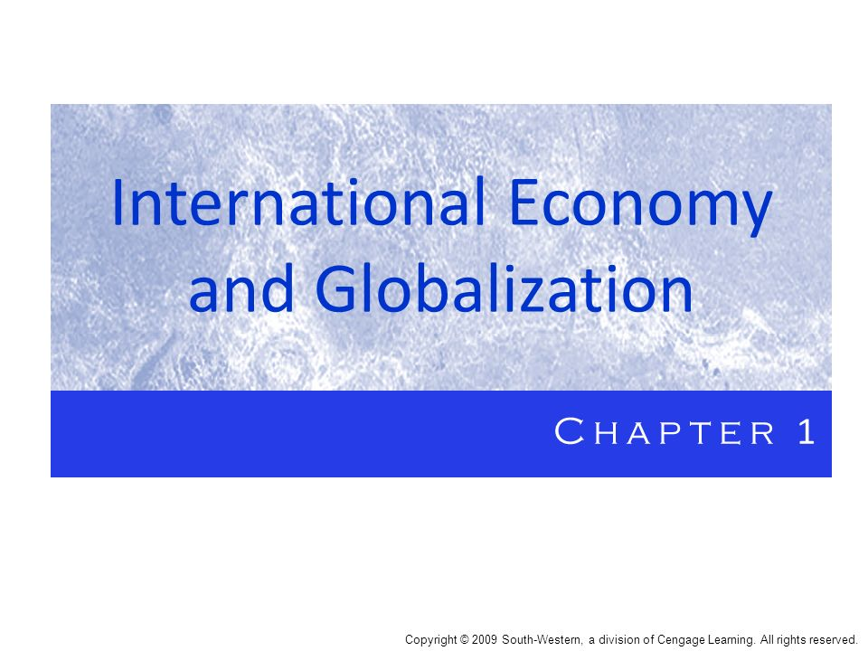 Globalization 1) greater interdependence among nations 2) increased integration of product and resource markets through trade, immigration, and foreign investment 3) includes noneconomic elements such as cultural and environmental factors 4) occurs on political, technological, cultural and economic levels