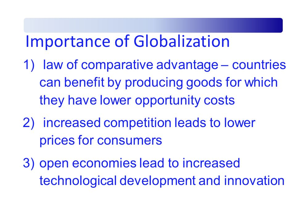 Fallacies of International Trade 1) zero sum game – untrue – both countries can gain by specializing 2) reduced domestic employment – untrue – specific industries may suffer but overall employment increases 3)trade restrictions as beneficial – untrue – restrictions reduce purchasing power of other nations and lead to retaliatory actions