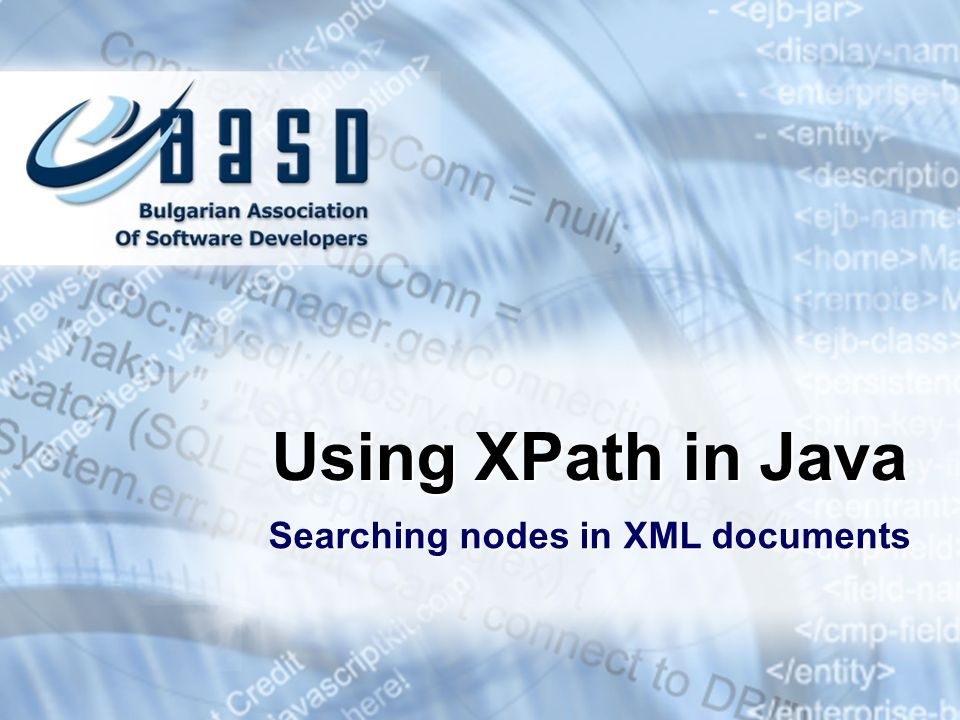 Using XPath in Java Searching nodes in XML documents