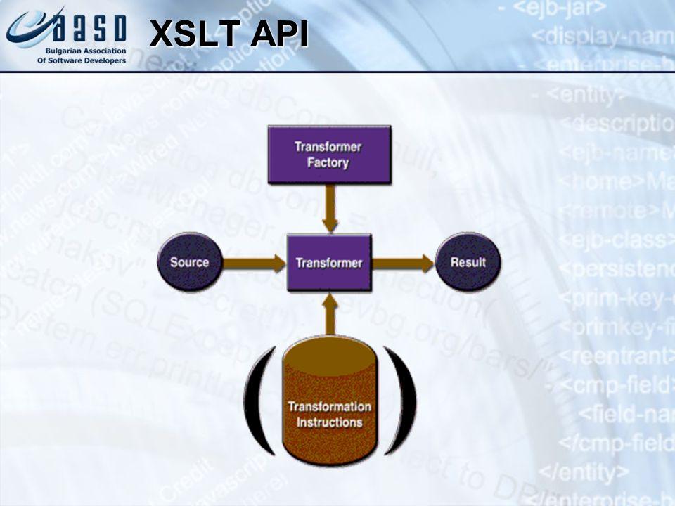 XSLT API