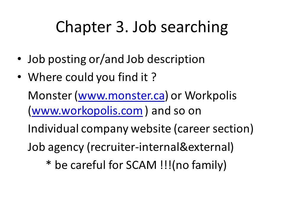 Chapter 4.Resume & Cover letter(I) Resume : Formal doc.