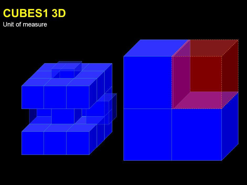 ARROW 3D Unit of measure