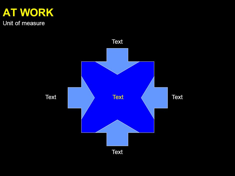 Text AGAINST Unit of measure