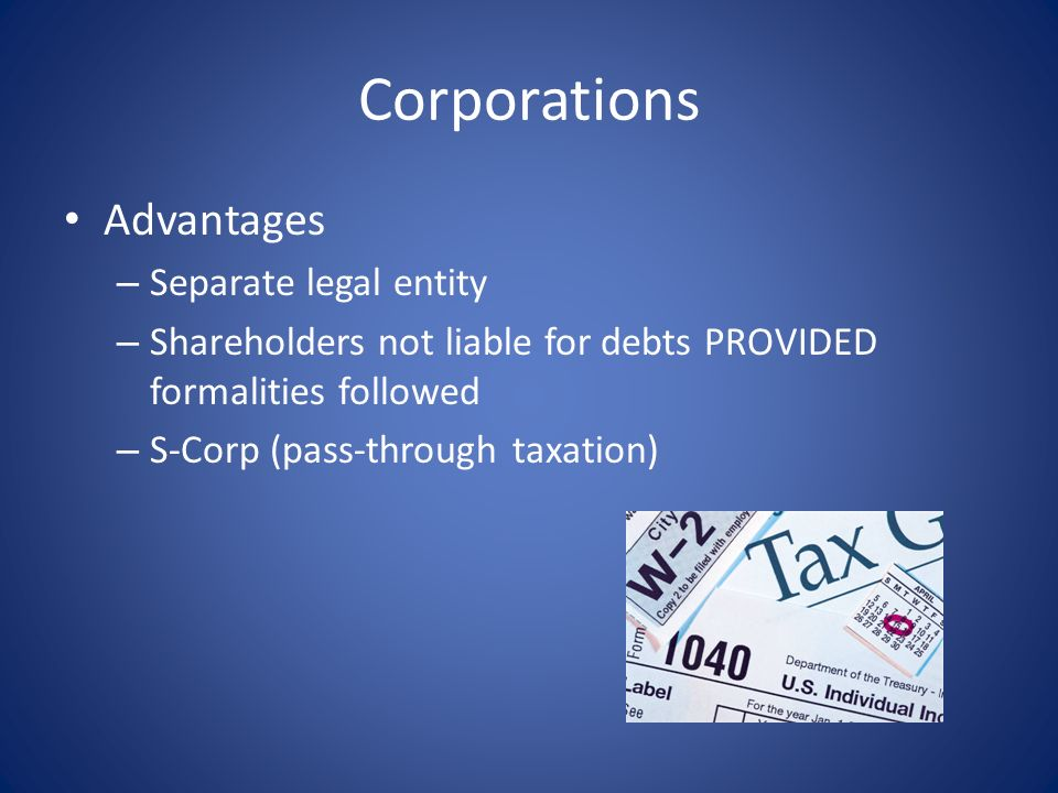 Corporations Formation/Documentation – Articles of Incorporation – Bylaws – Resolutions of Directors/Shareholders – Shareholders Agreement Membership/